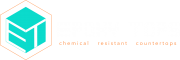 Epoxytops full logo in white
