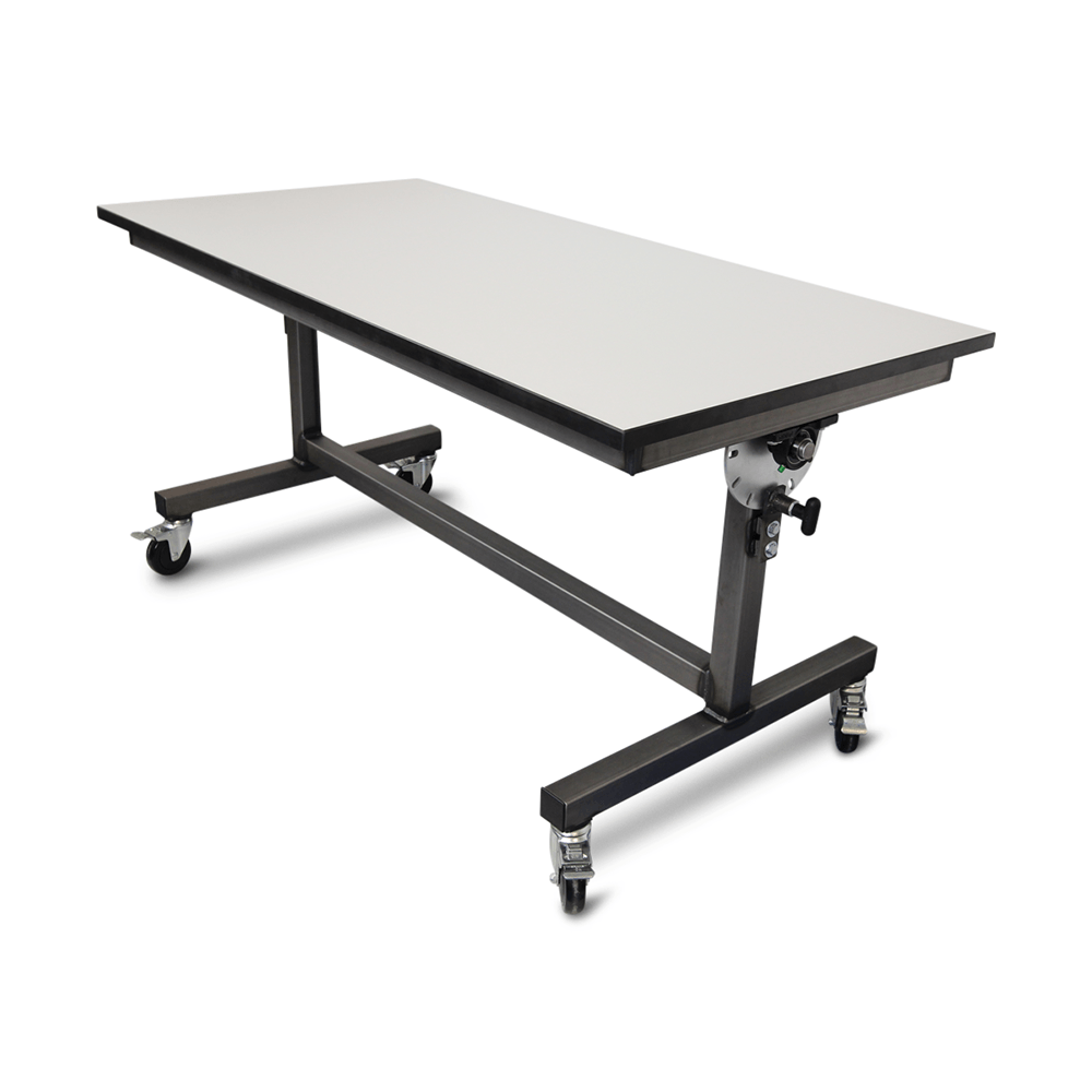 phenolic chemical resistant foldable table