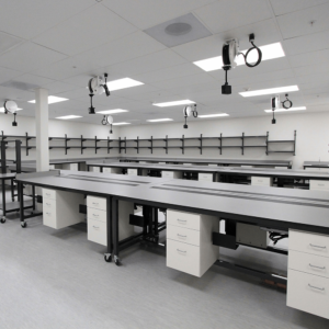Chemical resistant phenolic lab countertops