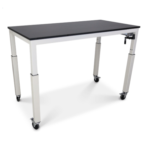 height adjustable phenolic countertop