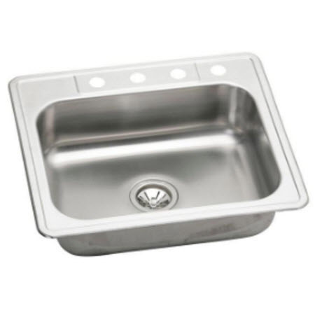 stainless steel 4 hole lab sink