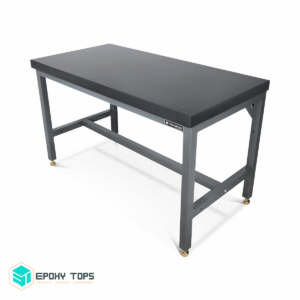 "2.5"" Black Epoxy Tops Balance Table"