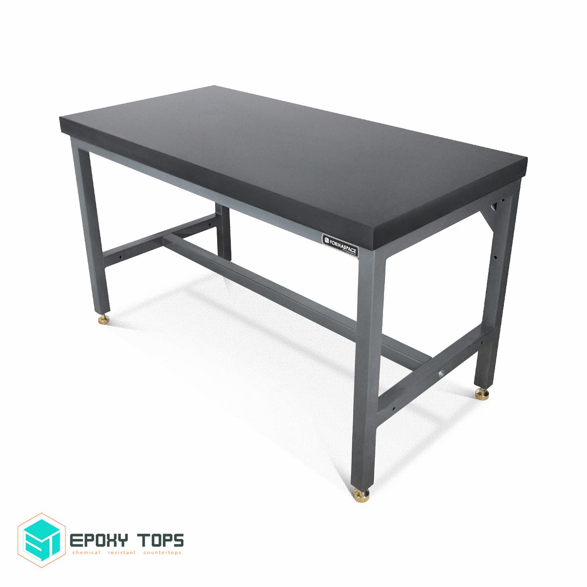 "2.5"" Black Epoxy Tops Balance Table"