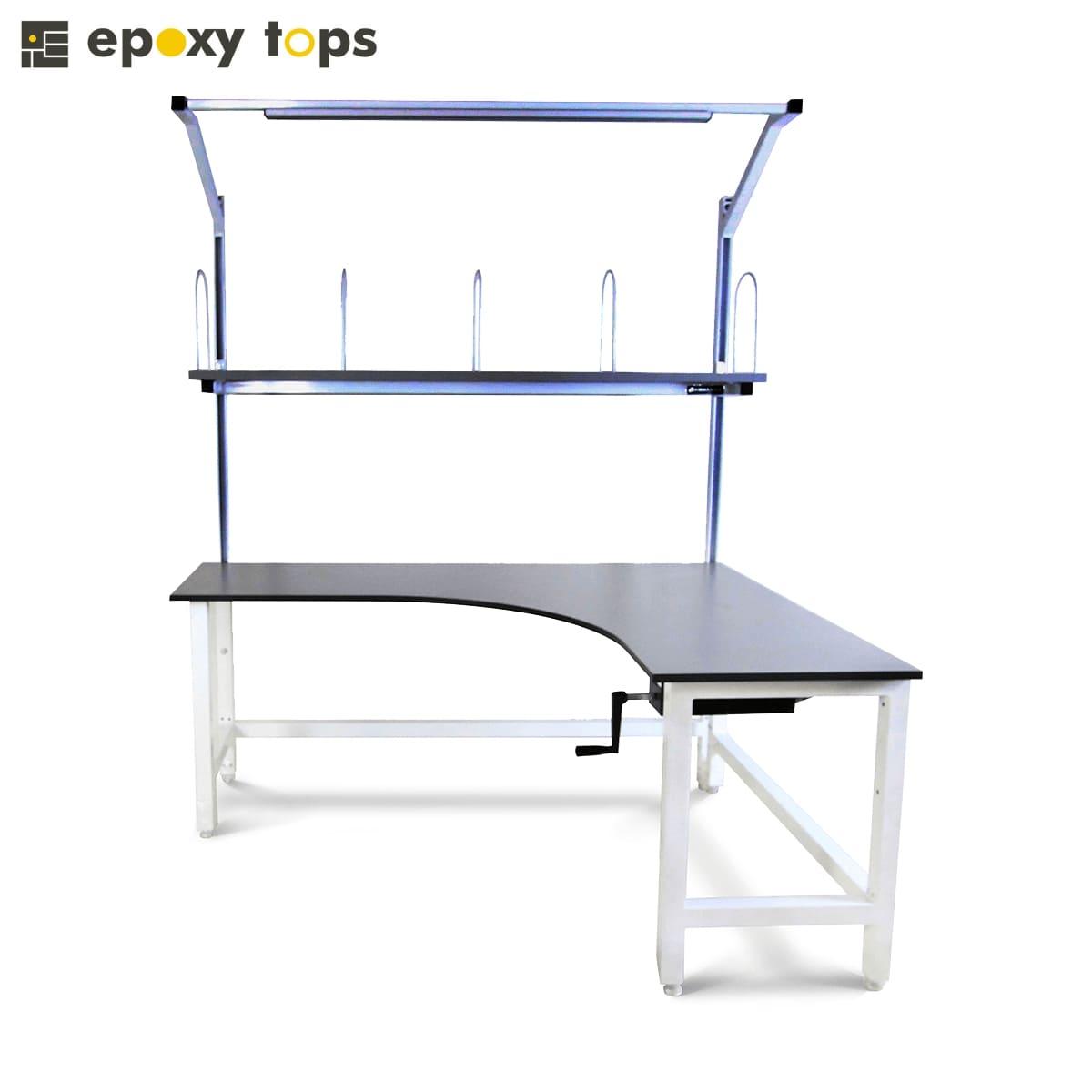 lab corner workbench