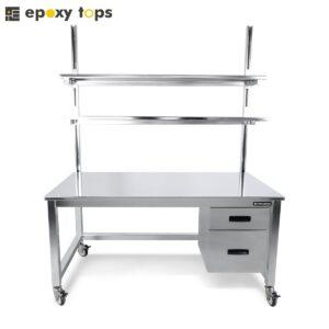 electropolished workbench