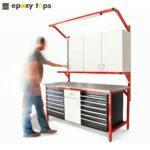 custom made stainless steel workbench