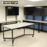 chemical resistant workbenches