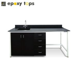 chemical resistant wet lab furniture