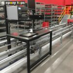stainless steel workbench