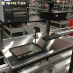 stainless steel workbench for shipping station